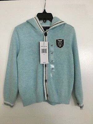 Boy's Tommy Hilfiger Sweater With Hood NWT - 4t