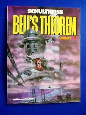 "Bells Theorem 3 ""Contact"" by Schultheiss. Sci-fi graphic novel  VFN. 1st."