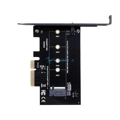 M Key M.2 NGFF SSD To PCI-E X4 Slot Adapter Converter Card For 2242 2260 2280 CA