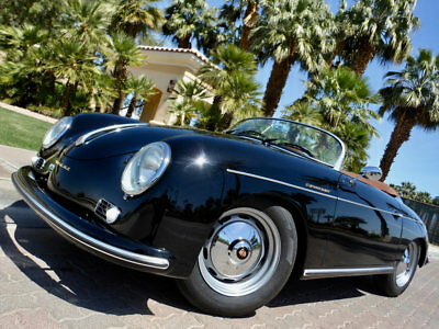 1957 Porsche 356 SPEEDSTER 1957 PORSCHE 356 SPEEDSTER REPLICA CALIFORNIA TITLED PROFESSIONAL NEW BUILD