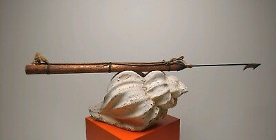 """Vintage/Antique Whaling Whale Seal Harpoon Iron 67"""" long"""