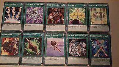 Yu-Gi-Oh! Deck Booster - 10 Spell Cards