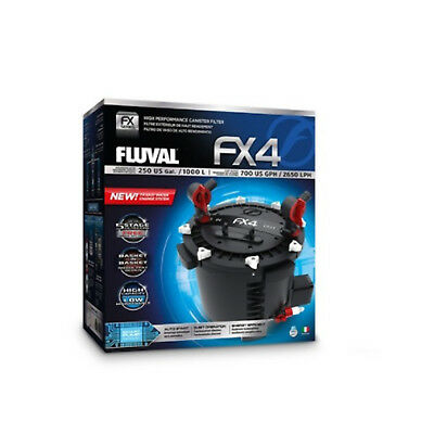 Fluval FX4 External Canister Aquarium Walter Filter Multi Stage Smart Pump Tall