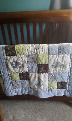 Baby Boy Quilt/new/unused/cars, trucks, plane
