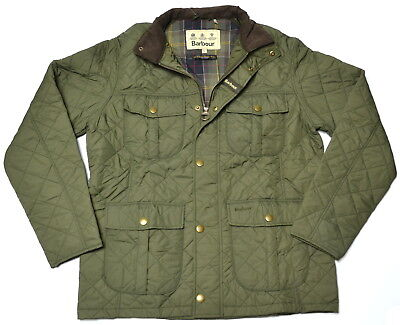 BARBOUR Explorer Quilted Utility Jacket