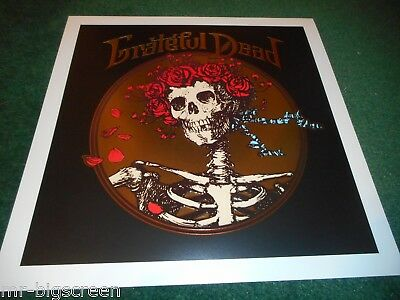 "The Grateful Dead - Original Embossed Promo Flat Poster - 12.25"" X 12.25"""