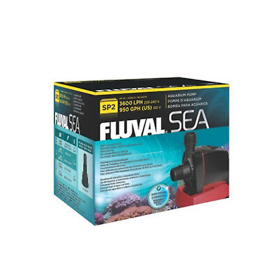 Fluval Sea SP2 Marine Sump Aquarium Fish Tank Robust Water Smart Pump Quiet New