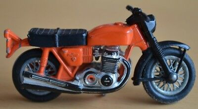 Matchbox Lesney Superfast No 18 ORANGE Hondarora Motorcycle