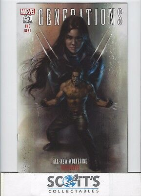 Generations All New Wolverine & Wolverine #1 Nm (Lucio Parrillo Variant) Cover A