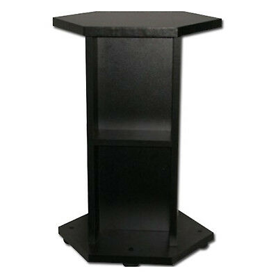 Aquael Hexset 60l Black Stand Indoor Aquatics Aquariums Stands Cabinet New