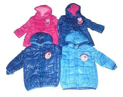 Baby Girls/Boys Coat Peppa Pig Or George Pig 12-30 Months