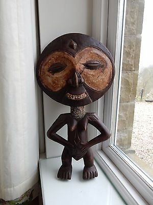 AFRICAN TRIBAL  statue   20TH c  x Country house Ethnographic Collection  big u