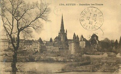 71 Autun Derriere Les Tours