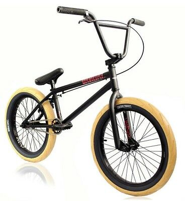 "VANDALS TROOP 2018 BLK X EDITION BMX BIKE 20"" Black Jet Fuel Shipping UK/EU/USA!"