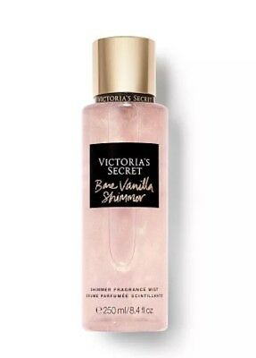 ❤ VICTORIA'S SECRET NEW! BARE VANILLA SHIMMER ❤ Fragrance Mist 250 ml/Brand New