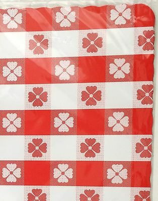 "25 TableMate Party Expressions Red Gingham 10"" x 14"" paper placemats"