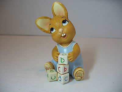 NEW Pendelfin Bob baby Figurine rabbit Bunny w/ Box