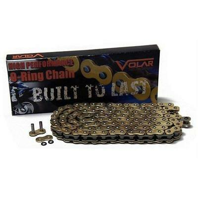 Gold Motorcycle Chain 120 links 520 Pitch O-Ring