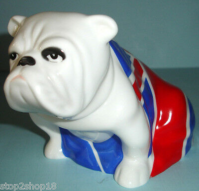 Royal Doulton Jack Bulldog #26373 Skyfall James Bond DD007 British Flag NEW