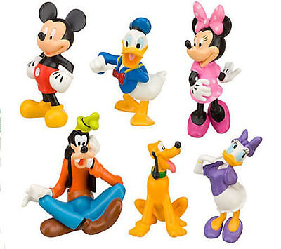 2017 Disney Mickey Mouse Clubhouse Figurine Deluxe Figure Set....Free Shipping
