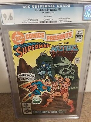 Dc Comics Presents #47 Cgc 9.6 First Appearance Of He-Man And Skeletor In Comics