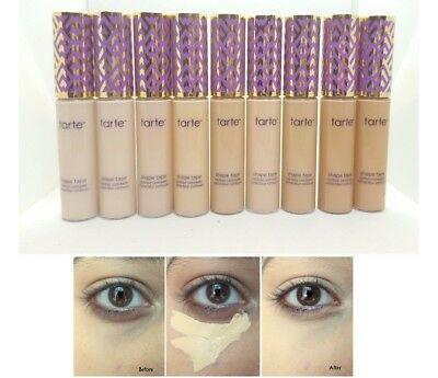 Tarte Shape Tape Concealer 10ml Makeup Eyes Contour Light Medium Fair Eyes