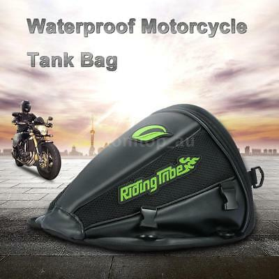 Motorcycle Tank Bag Waterproof Riding Backpack Travel Tool Tail Luggage L7E9