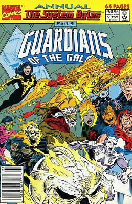 Guardians of the Galaxy Annual #2 NM 1992 Marvel Comic Book