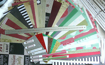 MIXED CHRISTMAS 12x6Pk 22 S/S & 6 D/S Dsgns,18 Strips, 4 Plain Cstck, 6 Gltr Hvy