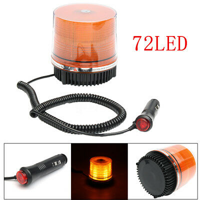 72 LED Flashing Light LED Safety Warning Strobe Beacon Emergency Traffic Truck