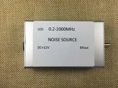 1pc DC 12V 0.2-2000Mhz noise generator / noise source / spectrum tracking signal