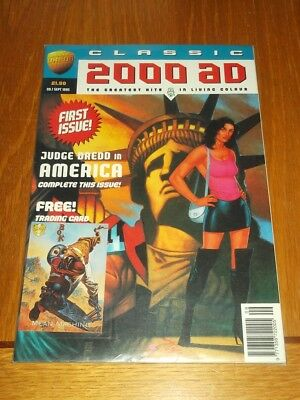 2000Ad Classic #1 September 1995 British Monthly Judge Dredd With Free Gift<*