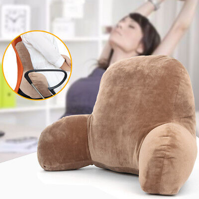 Plush Cushion Lounger Back Pillow Bed Rest Support Arm Backrest Relax Pillow