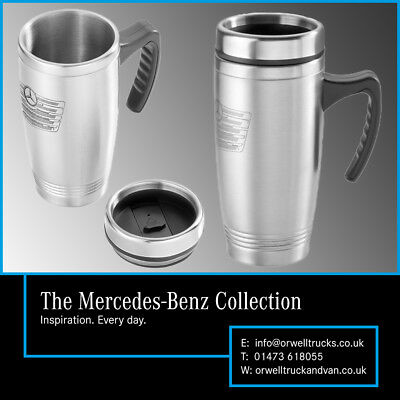 The Mercedes-Benz Collection: Genuine Stainless Steel Thermos Travel Mug