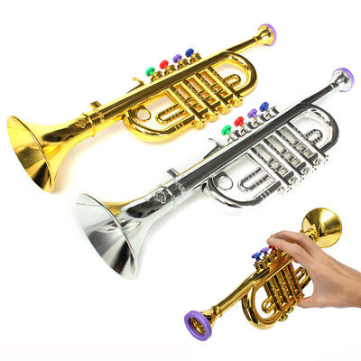 Simulation Horn Trumpet Toy Halloween Party Stage Props Musical Instrument Gift