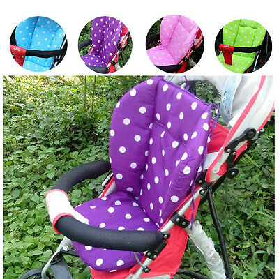 US STOCK Thick Baby Infant Stroller Car Seat Pushchair Cushion Cotton Cover Mat