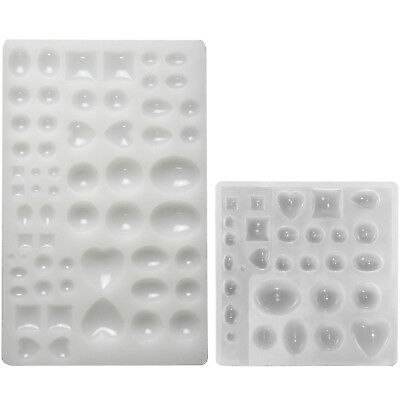 Cabochon Gem Jewelry Silicone Mould