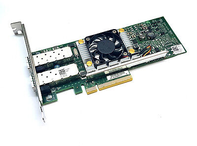 Broadcom 57810S 10 Gigabit 10GBe 10Gbit Dual Port SFP+ PCIe x8 Server NIC