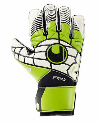 Uhlsport eliminator soft graphit Guanti Portiere Keeper Gloves con stecche