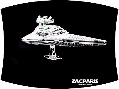 DISPLAY STAND for Star Wars Lego 75055 6211 Imperial Star Destroyer - Very Nice!