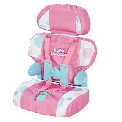 Baby Dolls Booster Boosterseat Seat Car Casdon Huggles 710 Toy Play Girls Pink