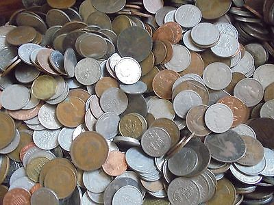 100 X English Coins! Mixed Lot Collection Of Old British Coins. U.k. Mix!