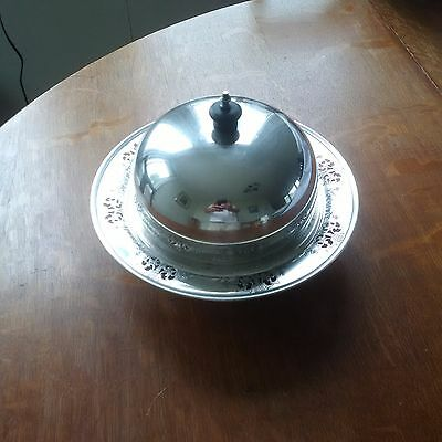Birks Silverplate Covered Dish
