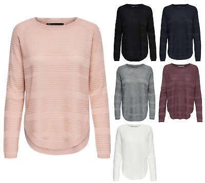 896fb35160 ONLY Damen Strick Pulli Shirt onlCAVIAR L/S PULLOVER KNT NOOS Oversize  color mix