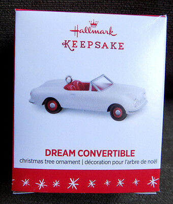 Hallmark Dream Convertible Miniature Ornament 2016 Mini Car for Split Level Home