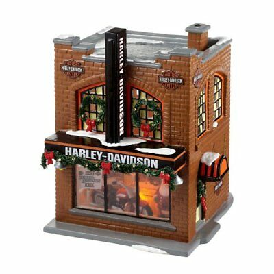 The Original Snow Village from Department 56 Harley-Davidson Snow Village