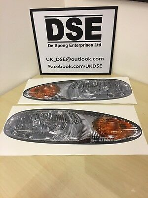 Ginetta G20 Lightweight Headlight Sticker Pair For Race or Sprint Car Bonnet DSE