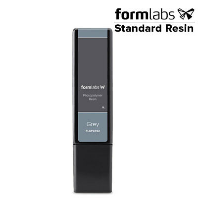 FormLabs 3D Printing Material Resin Cartridge - Standard Grey 1 Litre