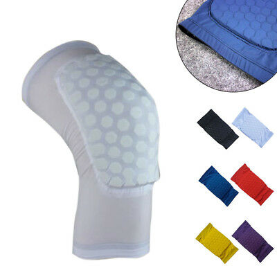 Sports Men Honeycomb Pad Knee Sleeve Support Breathable Leg Protector Creative