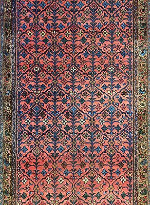Magnificent Malayer - 1920s Antique Persian Runner - Oriental Rug 3.4 x 16.7 ft.